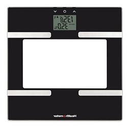 Health-o-Meter BFM600KD-53 Glass Body Fat Scale, Clear/Black