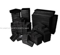 Black Swirl Cotton Filled Jewelry Gift Boxes for Sales Displ