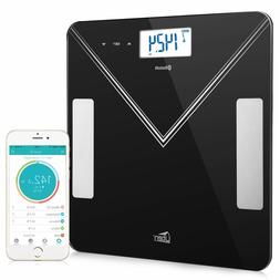 Bluetooth Body Fat Scales 400lb Smart Digital Bathroom Scale
