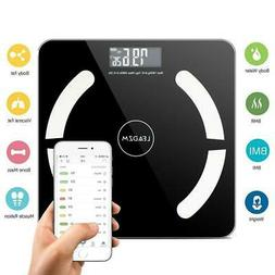 Bluetooth LCD Digital Smart Scale Body Weight Fat BMI Bone A