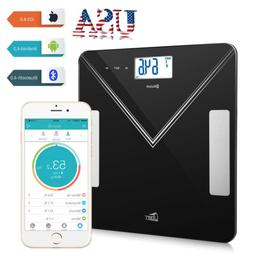 Bluetooth Smart Digital Bathroom Scale LCD BMI Body Fat Weig