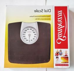 Sunbeam Body Scale Accurate Bathroom Dial Analog Weight Disp
