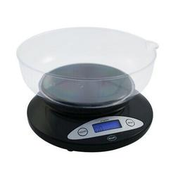 Bowl Kitchen Scale - Black