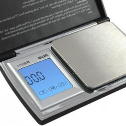 American Weigh Scales BT2-201 Digital Pocket Scale - Black,