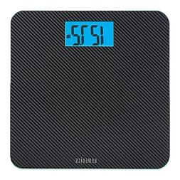 Homedics® Carbon Fiber Glass Bathroom Scale, Large Platform