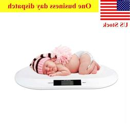 Comfort Digital Baby Scale White Portable Infant Scale Pet D