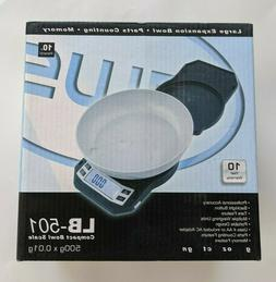 American Weigh Scales Compact Bowl Scale LB-501  500gx.01g