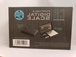 CR JDS 600BDigital Pocket Scale American Weigh *600 x 0.1G*