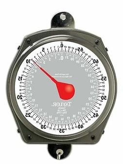 Taylor Precision Products Dial Style 70-Pound Industrial Han