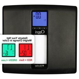Ozeri Digital Bath Scale BMI Weight Change Detection WeightM