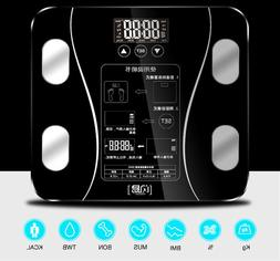 Digital Bathroom Scale LCD Display With Health Tracking Mult