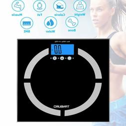 DIGITAL BODY FAT ANALYSER WEIGHT LOSS SCALES BMI HEALTHY 400