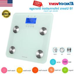 Digital Body Fat Scale Weight Muscle Bone Water KCAL BMI Ana