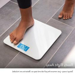 Digital Body Weight Bathroom Scale by GreaterGoods, Large Gl