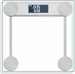 Digital Body Weight Bathroom Scale with Step-On Technology a