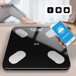 Digital Body Weight Bathroom Scale with Step-On 400 Pounds C