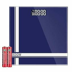 Digital Body Weight Scale,WGGE Bathroom Scale with Backlit L