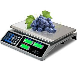 Digital Commercial Price Scale 66lbs Food Fruit Electronic C