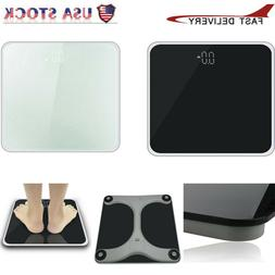 Digital Electronic Body Weight Scale Steel Protective Glass