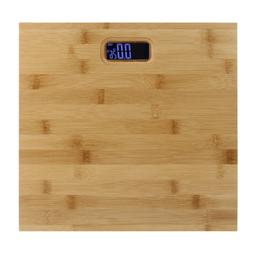 Digital Electronic LCD Personal Wooden Bathroom Body Weight