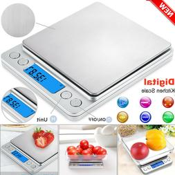 Digital Electronic Pocket Food Weight Scale Mini LCD Kitchen