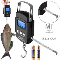 Digital Fishing Scale LCD Electronic Luggage Weight Hanging