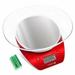 Etekcity Food Kitchen Scale Digital Weight Grams and Oz, Rem