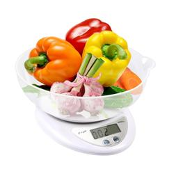 Digital Food Scale, LATOW Kitchen Cooking Weight Bowl with O
