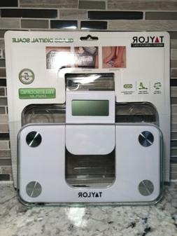 Taylor Precision Products Digital Glass Mini Scale with Expa