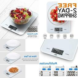 Uten Digital Kitchen Food Scale With Back-Lit Lcd Display, T