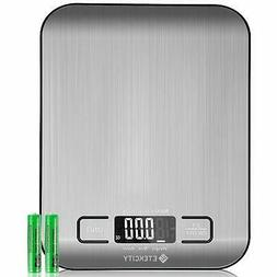 Etekcity Digital Kitchen Scale Multifunction Food Scale, 11l