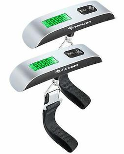 Digital Luggage Scale , Fosmon LCD Display Backlight Tempera