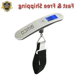 Digital Luggage Scales Weighs Suitcases Up to 50 kg LCD Disp