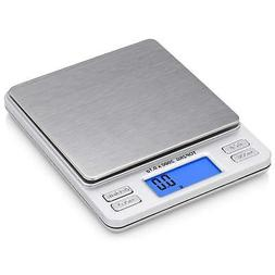 Smart Weigh Digital Pro Pocket Scale with Back-Lit LCD Displ