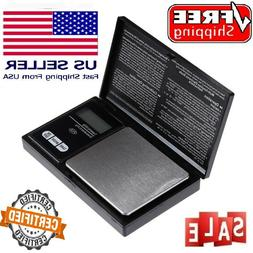 Digital Scale 1000g x 0.1g Jewelry Pocket Gram Gold Silver C