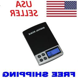 Digital Scale 1000g x 0.1g Jewelry Gold Silver Coin Grain Gr