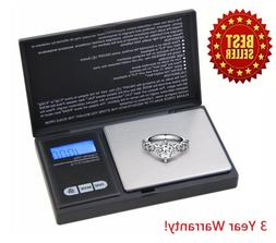Digital Scale 1000g x 0.1g Jewelry Herb Silver Coin Gram Pro