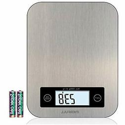 Digital Scales Kitchen Scale, Food Weigher, Entire Stainless