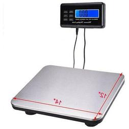 DIGITAL SHIPPING SCALE POSTAL SCALE LCD 660 LBS CAPACITY w/