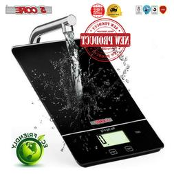 5 Core DIGITAL Touch Screen Glass Top KITCHEN Postal SCALE 5