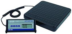 "Detecto DR150 Portable Digital Receiving Scale,12"" x 12"", 15"