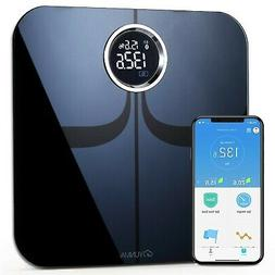 New Durable Digital Tempered Glass Body Weight Bathroom Scal