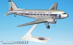 Flight Miniatures Eastern Airlines DC-3 1/100 Scale Model wi