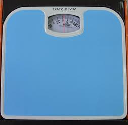 Easy Read Blue Scale Mechanical Personal Bathroom Weight Bod