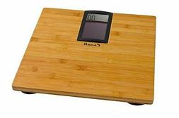 Escali ECO180 Solar Bamboo Digital Bath Scale 400 Lb/180 Kg,