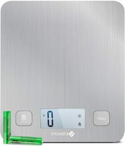 Etekcity Upgraded Digital Kitchen Food Scale Stainless Steel