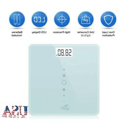 Electronic LCD Digital Body Weight Bathroom Scale w/Battery