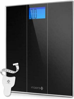 Etekcity Digital Body Weight Bathroom Scale With Step-On Tec