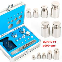 304 Stainless Steel Class F1 Calibration Scale Weight Kit Se