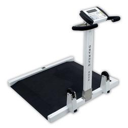 Detecto Fold Up Portable Wheelchair Scale